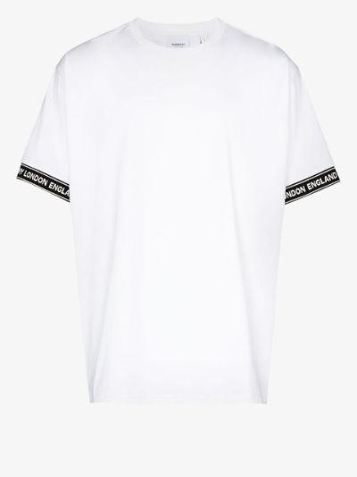 Teslow oversized logo print T-shirt