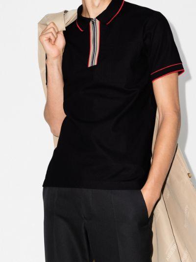 Waltham Icon stripe cotton polo shirt