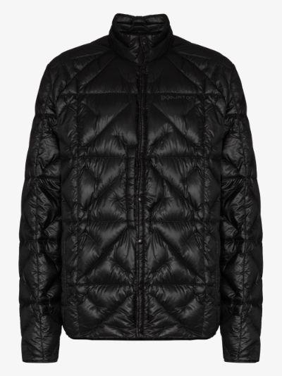 black Baker Lite padded jacket