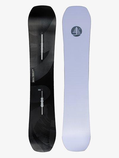black Family Tree Hometown Hero 156 camber snowboard