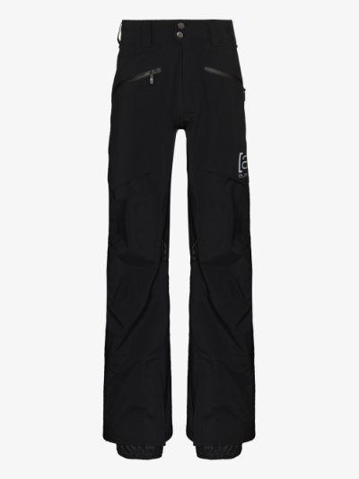 black GORE-TEX 3L PRO Hover ski trousers