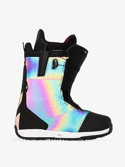 black Ion Boa snowboard boots