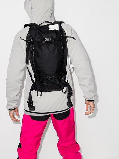 black Japan Jet Pack 15L ski backpack