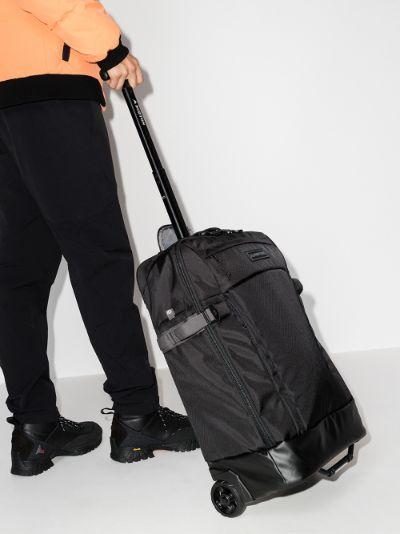 black Multipath 40L rolling travel bag