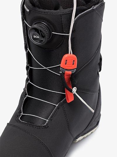 black Photon Boa snowboard boots