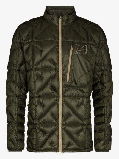 green Baker Lite padded jacket