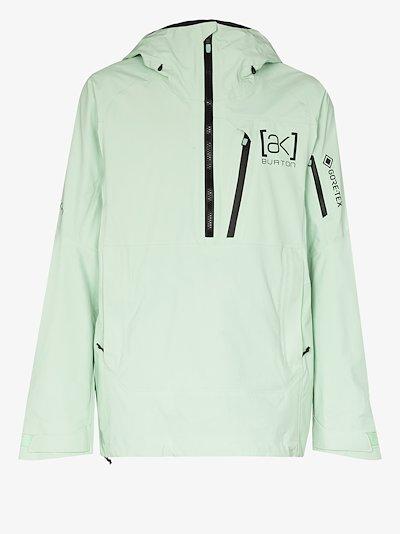 green GORE-TEX Velocity anorak jacket