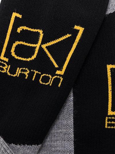 grey Endurance logo ski socks