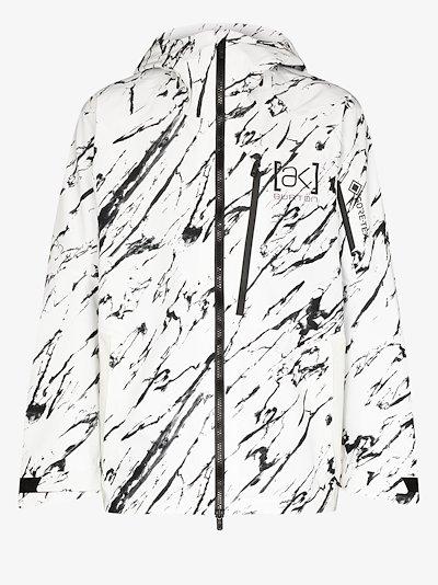 white Cyclic GORE-TEX jacket