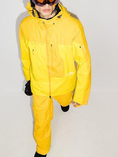 yellow 457 GORE-TEX PRO Guide ski jacket