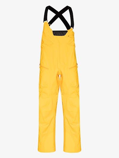 yellow 457 GORE-TEX PRO Guide ski trousers
