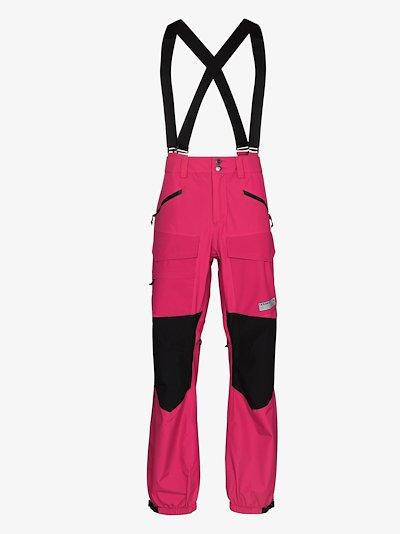 pink Banshey GORE-TEX ski trousers