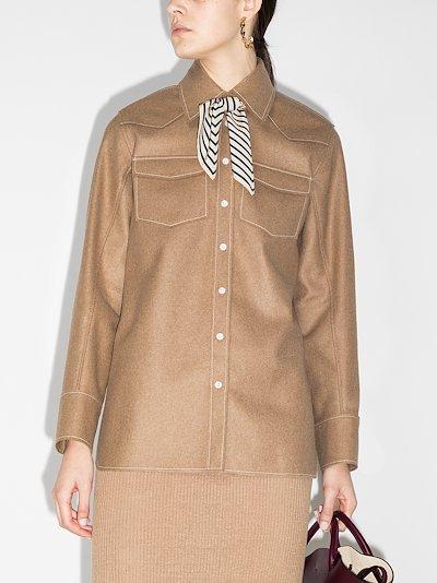 western button-down shirt