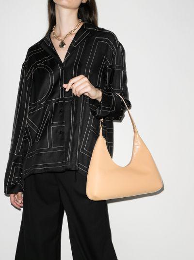 beige Amber leather shoulder bag