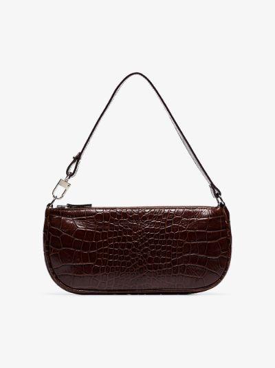 brown rachel leather shoulder bag