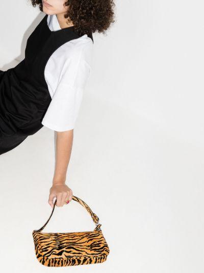 brown Rachel tiger pattern shoulder bag