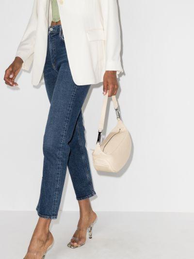 Neutral Ami leather shoulder bag