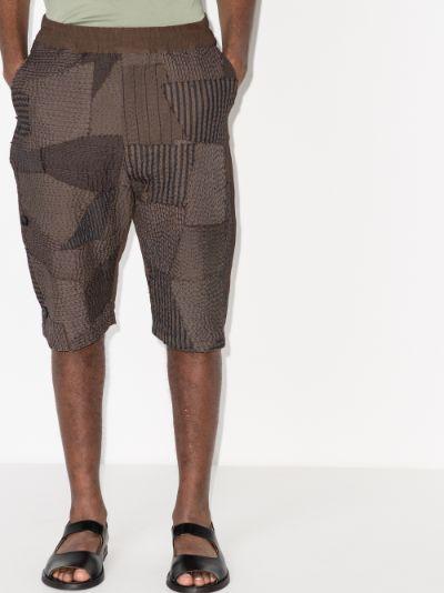 Dino long printed shorts