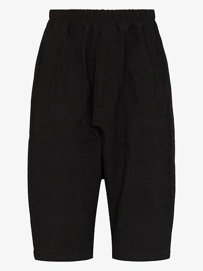 Enrico linen shorts