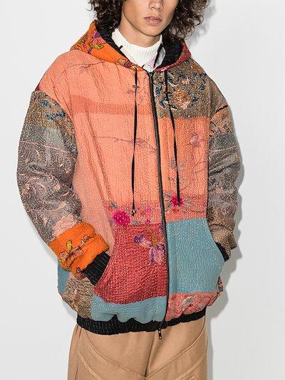 Hayden patchwork hoodie