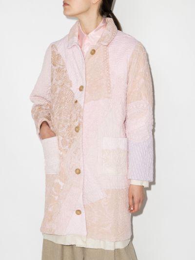 Rachel embroidered cotton coat