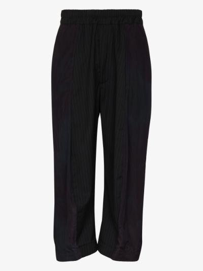 Ross tie-dye cropped trousers