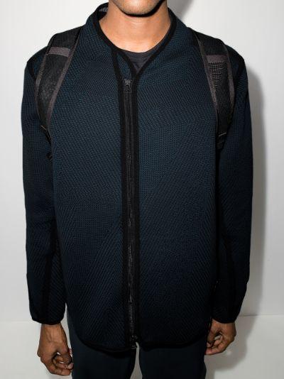 F-Type zip-up knit sweatshirt
