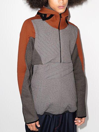 orange Weightmap hoodie