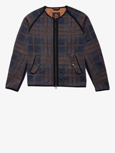 X Baracuta Blue G4 3D Tartan Jacket