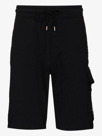 garment dyed lens cargo shorts