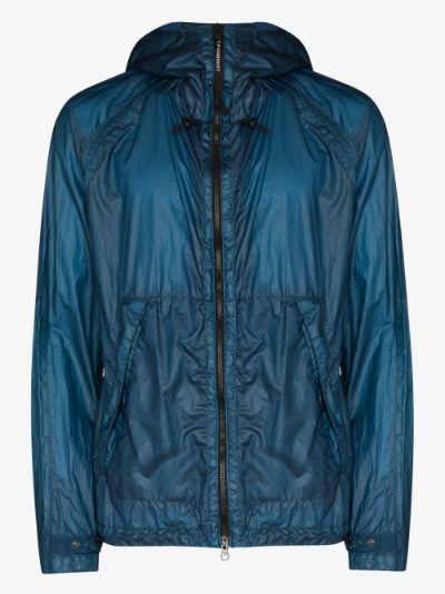 Goggle hooded jacket