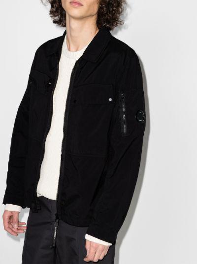 Patch Pocket Zip-Up Jacket