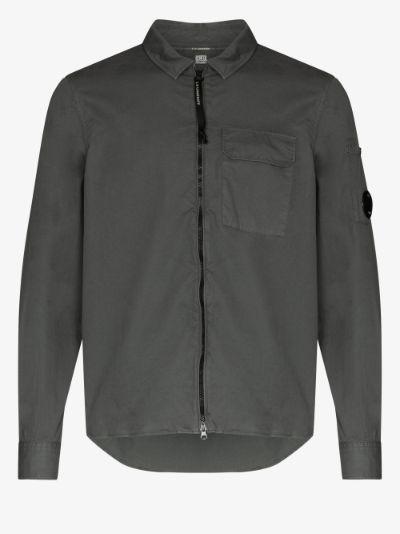 zip-up shirt