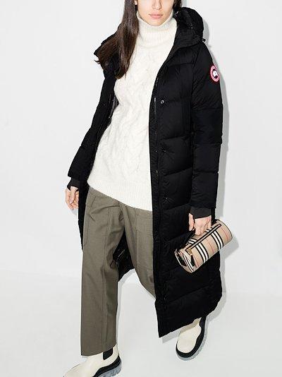Alliston hooded padded coat