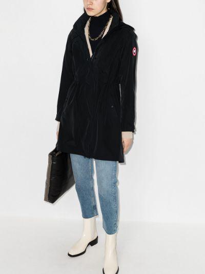 Belcarra hooded parka jacket