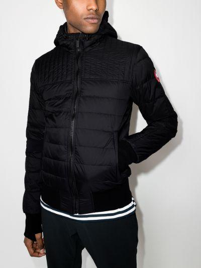 cabri hooded padded jacket