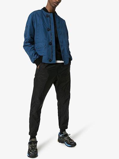 Faber padded bomber jacket