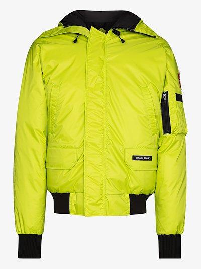 green Northern Lights Chilliwack bomber jacket