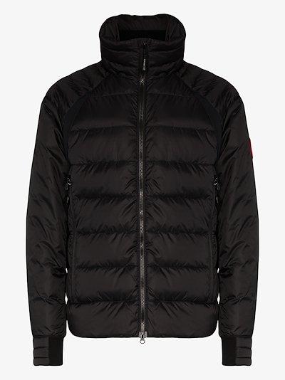 HyBridge feather down padded jacket