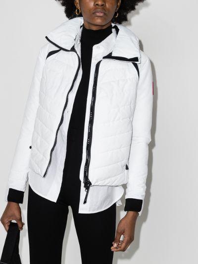HyBridge hooded base jacket