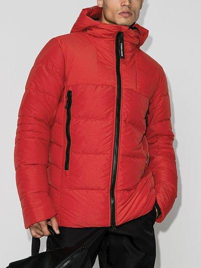 HyBridge hooded padded jacket