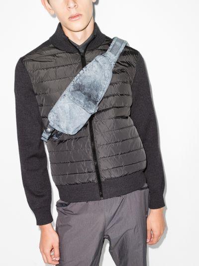 HyBridge knitted padded Jacket