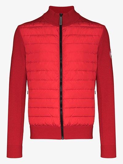 HyBridge Wool Knit Padded Jacket