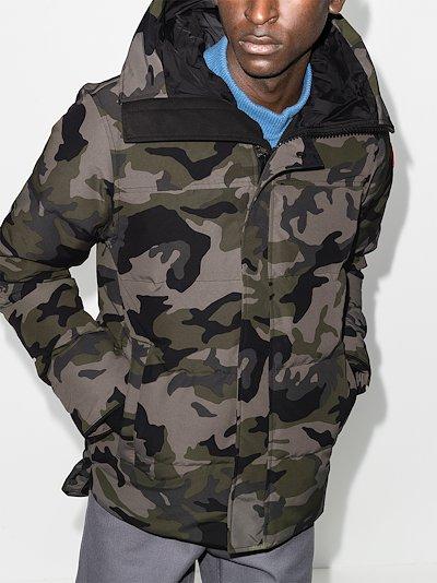 MacMillan camouflage parka jacket