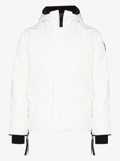 Maitland hooded down parka jacket