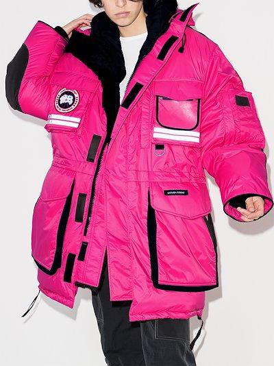 Northern Lights snow mantra hooded parka coat