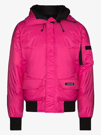 pink Northern Lights Chilliwack bomber jacket