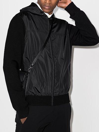 Windbridge panelled hoodie