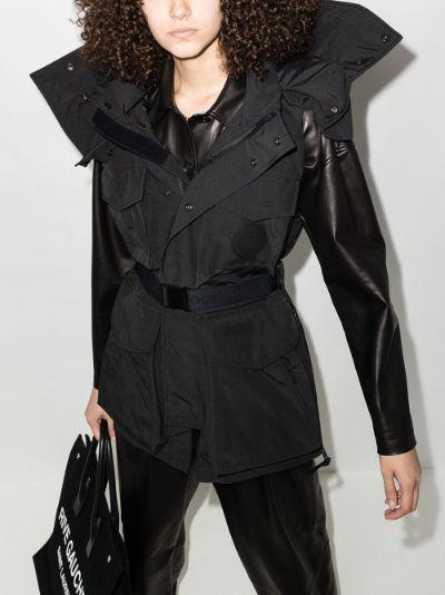X Angel Chen Chaka longline vest