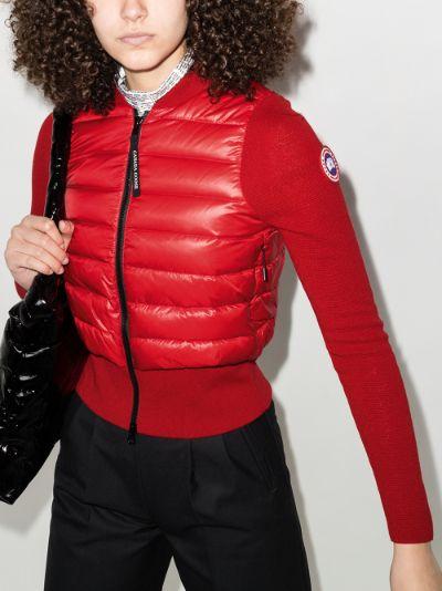 X Angel Chen HyBridge quilted jacket